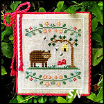 Welcome to the Forest #7 Forest Bear from Country Cottage Needleworks -- click to see more