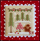 Gingerbread Village #2 Gingerbread Girl & Peppermint Tree -- click to see more
