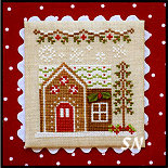 Gingerbread Village #9 GV8 House #6 from Country Cottage Needleworks -- click to see more