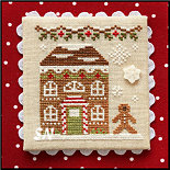 Gingerbread Village GV11 House #8 from Country Cottage Needleworks -- click to see more
