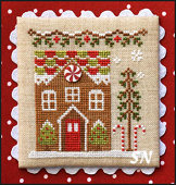 Gingerbread Village Gingerbread House #1 from Country Cottage Needleworks -- click to see more