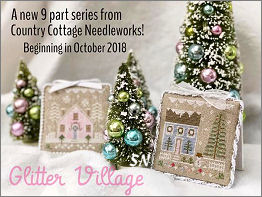 Glitter Village Series from Country Cottage Needleworks -- click to see more