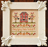 Happy Harvest from Country Cottage Needleworks -- click to see more