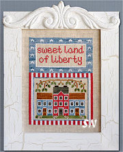 Land of Liberty from Country Cottage Needleworks -- click to see more