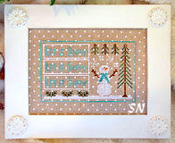 Let it Snow from Country Cottage Needleworks -- click to see more