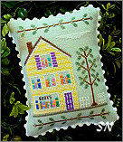 Main Street #1 Flower Shop from Country Cottage Needleworks -- click to see more