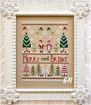 Merry and Bright from Country Cottage Needleworks -- click to see more
