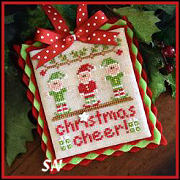 Classic Ornament #5 Christmas Cheer from Country Cottage Needleworks -- click to see lots more