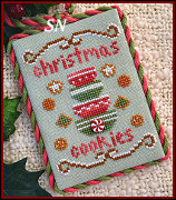 Classic Ornament #4 Christmas Cookies from Country Cottage Needleworks -- click to see lots more