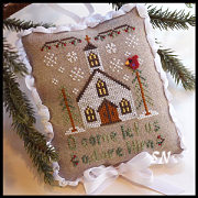Classic Ornament #6 Let Us Adore Him from Country Cottage Needleworks -- click to see lots more