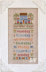 Sampler Days from Country Cottage Needleworks -- click to see more