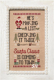 Santa's List from Country Cottage Needleworks -- click to see more