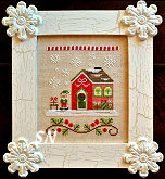 Santa's Village #11 -- Elves's Workshop from Country Cottage Needleworks -- click to see more