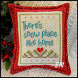 Snow Place Like Home #3 from Country Cottage Needleworks -- click to see more