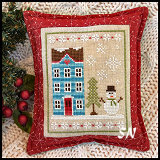 Snow Place Like Home #1 from Country Cottage Needleworks -- click to see more