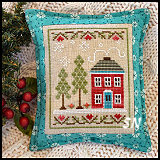 Snow Place Like Home #2 from Country Cottage Needleworks -- click to see more