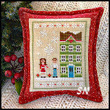 Snow Place Like Home #5 from Country Cottage Needleworks -- click to see more