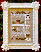 Snow Sampler from Country Cottage Needleworks -- click to see lots more