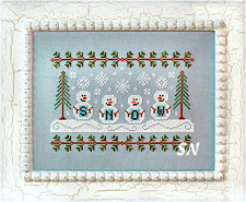 Snowmen from Country Cottage Needleworks -- click to see more