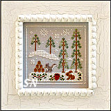 Frosty Forest #4 Snowy Friends from Country Cottage Needleworks -- click to see more