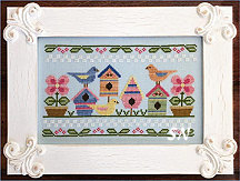 Spring Birds from Country Cottage Needleworks -- click to see more
