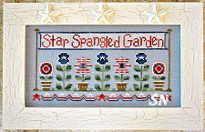 Star Spangled Garden from Country Cottage Needleworks -- click to see more