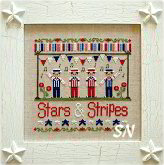 Stars and Stripes from Country Cottage Needleworks -- click to see more
