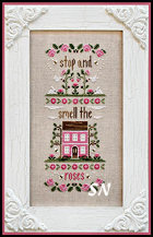 Stop and Smell the Roses from Country Cottage Needleworks -- click to see more