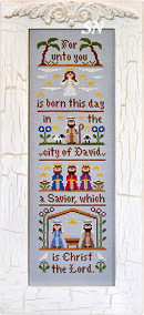 The Nativity from Country Cottage Needleworks -- click to see more