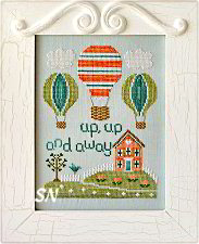 Up, Up and Away from Country Cottage Needleworks -- click to see more