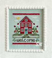 #85 Welcome Home from Country Cottage Needleworks -- click to see more