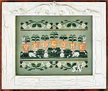 Welcome Spring from Country Cottage Needleworks -- click to see more
