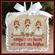 Classic Ornament #1 Angels from Country Cottage Needleworks -- click to see lots more