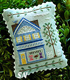 Main Street #6 Dress Shop from Country Cottage Needleworks -- click to see more