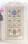 The English Garden from Country Cottage Needleworks - click to see more
