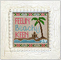 Beachy Keen from Country Cottage Needleworks -- click to see more