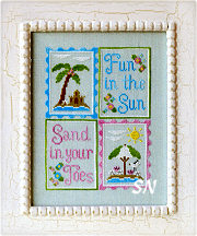 Fun in the Sun from Country Cottage Needleworks -- click to see more