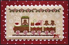 Gingerbread Village #1 Gingerbread Train -- click to see more