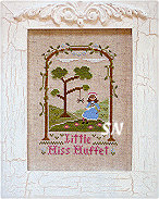 Little Miss Muffet from Country Cottage Needleworks - click to see more