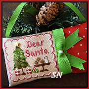 Classic Ornament #2 Dear Santa from Country Cottage Needleworks -- click to see lots more