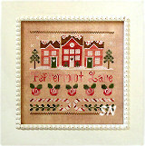 Peppermint Lane from Country Cottage Needleworks - click to see more