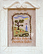 Peter Peter Pumpkin Eater from Country Cottage Needleworks - click to see more