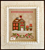 Needleworks Santas Village #2 Poinsettia Place from Country Cottage Needleworks -- click to see more