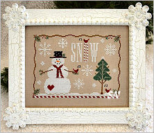 Snow Days from Country Cottage Needleworks -- click to see more
