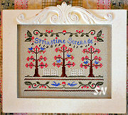 Springtime Serenade from Country Cottage Needleworks -- click to see more