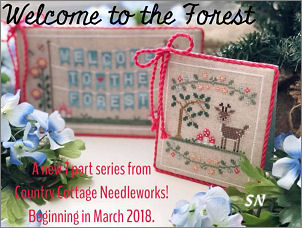 Welcome to the Forest from Country Cottage Needleworks -- click to see more
