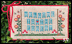 Welcome to the Forest part 1 from Country Cottage Needleworks -- click to see more