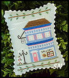 Main Street #5 Art Gallery from Country Cottage Needleworks -- click to see more