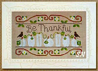 Be Thankful from Little House Needleworks - click to see more