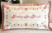 Pretty in Pink from Country Cottage Needleworks - click to see more